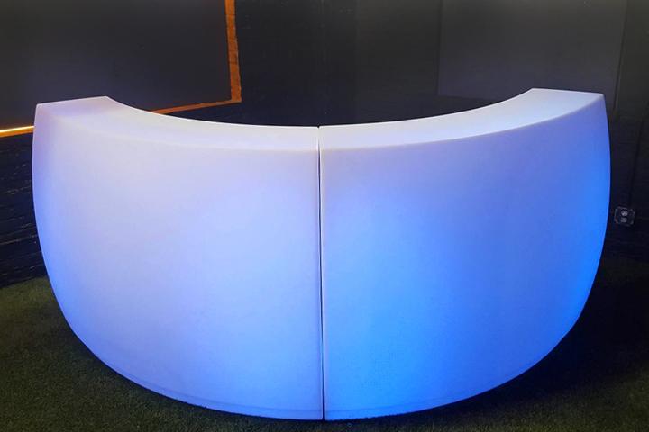 Led Furniture Rental Led Portable Bars Tables Seats