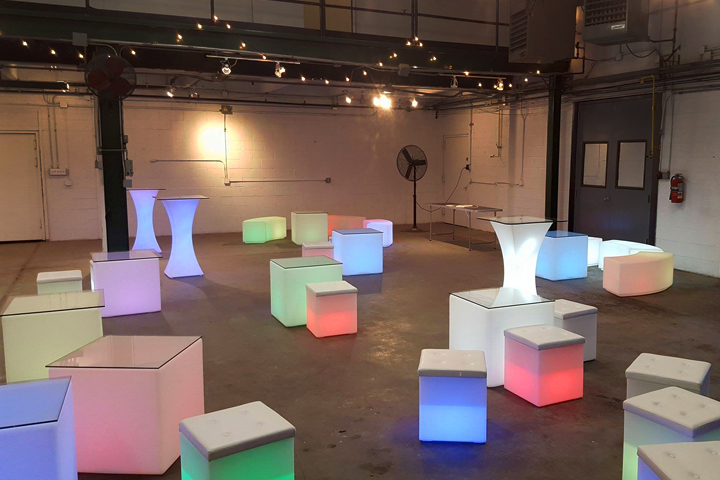 Led Coffee Side Tables For Rent Ny Nj Long Island Led Furniture For Rent Nyc Best Bar